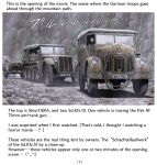 7.5_cm_pak_40 caterpillar_tracks comic engrish german_clothes ground_vehicle mahou_shoujo_madoka_magica military military_vehicle motor_vehicle rain ranguage sd.kfz.10 shingyouji_tatsuya the_keep_(1983) truck vehicle world_war_ii