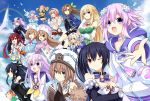 :d ;) ;d adult_neptune bare_shoulders black_hair black_hairband blanc blonde_hair blue_coat blue_eyes blush braid breasts brown_eyes brown_hair choker cleavage clenched_hand clouds commentary_request compa d-pad d-pad_hair_ornament day detached_collar detached_sleeves dogoo double-breasted dress elbow_gloves everyone expressionless fur_trim gloves green_eyes hair_bobbles hair_ornament hair_ribbon hairband hairclip hat highres histoire hood hooded_jacket hug hug_from_behind if_(choujigen_game_neptune) jacket large_breasts lavender_hair leaf_hair_ornament long_hair long_sleeves looking_at_viewer medium_breasts medium_hair necktie nepgear neptune_(choujigen_game_neptune) neptune_(series) noire one_eye_closed open_mouth orange_hair orange_neckwear outdoors pink_coat pish purple_hair pururut ram_(choujigen_game_neptune) reaching_out red_eyes redhead ribbon rom_(choujigen_game_neptune) sailor_dress shin_jigen_game_neptune_vii shirt short_hair siblings sisters small_breasts smile spaghetti_strap sweater tennouboshi_uzume twin_braids twins two_side_up umio_(choujigen_game_neptune) uni_(choujigen_game_neptune) usb vert very_long_hair violet_eyes w white_choker white_shirt wide_sleeves zero_(ray_0805)