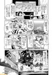 >:o 6+girls bare_shoulders black-framed_eyewear black_dress breasts comic commentary detached_sleeves dress fubuki_(kantai_collection) greyscale hair_flaps halterneck headgear isolated_island_oni kantai_collection kirishima_(kantai_collection) large_breasts mizumoto_tadashi monochrome multiple_girls naganami_(kantai_collection) non-human_admiral_(kantai_collection) nontraditional_miko remodel_(kantai_collection) roma_(kantai_collection) school_uniform shinkaisei-kan sidelocks supply_depot_hime translation_request yura_(kantai_collection) yuudachi_(kantai_collection)