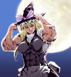 cho_marisa hat kirisame_marisa moon muscle touhou wi-z_garage witch