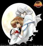 akumajo_dracula castlevania castlevania:_aria_of_sorrow hakuba_mina hug nicole_dubois soma_cruz