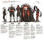 1girl 5boys black_cape cape capelet cosplay foot_clan hat helmet leonardo mask miyako_nagi multiple_boys pimiko raphael red_eyes red_scarf scarf shredder shredder_(cosplay) staff tagme teenage_mutant_ninja_turtles translation_request turtle