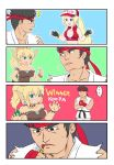 ... 1boy 2girls 4koma baseball_cap black_eyes black_hair blonde_hair blue_eyes bowsette bracelet breasts cleavage collar comic cropped_jacket crossover dougi gadorufu_(fervojo) genderswap genderswap_(mtf) hat jewelry lipstick long_hair makeup mario_(series) midnight_bliss midriff multiple_crossover multiple_girls new_super_mario_bros._u_deluxe nintendo ryuu_(street_fighter) silent_comic snk_heroines:_tag_team_frenzy spiked_bracelet spiked_collar spikes spoken_ellipsis street_fighter super_crown super_smash_bros. super_smash_bros_ultimate terry_bogard the_king_of_fighters torn_clothes torn_sleeves
