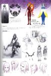 boots concept_art drag-on_dragoon drakengard elbow_gloves fujisaka_kimihiko gloves official_art short_hair sketch thigh-highs thigh_boots thighhighs weapon