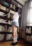 1girl asian book girl photo photography school_uniform solo tagme