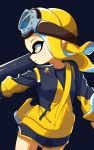 1girl asymmetrical_hair blonde_hair breasts from_side highres inkling long_hair nintendo small_breasts splatoon splatoon_2 very_long_hair yellow_eyes