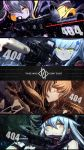 >:) 404_(girls_frontline) 404_logo_(girls_frontline) 4girls absurdres action aiming ammunition_pouch armband artist_logo artist_name assault_rifle bangs beret black_jacket black_legwear blunt_bangs blurry blurry_background blush blush_stickers boots breasts brown_eyes brown_hair bullpup casing_ejection clenched_teeth closed_mouth clothes_writing convenient_leg crossed_bangs dirty eotech explosion eyebrows_visible_through_hair facial_mark fingerless_gloves firing flashbang g11 g11_(girls_frontline) german_flag girls_frontline gloves green_eyes grenade_pin gun h&k_ump h&k_ump45 h&k_ump9 hair_between_eyes hair_ornament hair_over_one_eye hair_ribbon hat heckler_&_koch highres hk416 hk416_(girls_frontline) holding holding_gun holding_weapon hood hood_down hooded_jacket jacket knee_pads knees_together_feet_apart laser_sight leg_strap light long_hair looking_at_viewer magazine_(weapon) mahousho medium_breasts mud multiple_girls muzzle_flash one_eye_closed one_side_up open_clothes open_mouth plaid plaid_skirt pouch rain ribbon rifle scar scar_across_eye scarf scarf_on_head scope shell_casing shirt shorts shoulder_cutout side_ponytail sidelocks silver_hair single_legging sitting skirt smoke smoke_grenade submachine_gun suppressor sweatdrop teardrop teeth twintails ump45_(girls_frontline) ump9_(girls_frontline) very_long_hair water weapon wet yellow_eyes