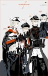 6+boys anchor anchor_hair_ornament bangs belt bismarck_(kantai_collection) black_gloves black_ribbon blonde_hair blue_eyes blush boots brown_eyes brown_hair capelet carrying coat crossdressing cup dress embarrassed eyelashes garrison_cap genderswap genderswap_(ftm) gloves graf_zeppelin_(kantai_collection) grey_eyes hair_between_eyes hair_ornament hand_on_another's_arm hat height_difference highres kantai_collection lifting_person long_hair male_focus military military_hat military_uniform multiple_boys mzet naval_uniform open_mouth otoko_no_ko peaked_cap prinz_eugen_(kantai_collection) ribbon sailor_collar sailor_dress sailor_hat short_hair sidelocks smile sweatdrop teacup thigh-highs thigh_boots u-511_(kantai_collection) uniform w_arms white_gloves z1_leberecht_maass_(kantai_collection) z3_max_schultz_(kantai_collection)