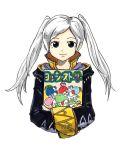 1girl crayon cute dinosaur female_my_unit_(fire_emblem:_kakusei) fire_emblem fire_emblem:_kakusei fire_emblem_heroes intelligent_systems kicdon mario_(series) my_unit_(fire_emblem:_kakusei) nintendo nintendo_64 nintendo_ead object_hug reflet simple_background solo super_smash_bros. twintails white_hair yoshi yoshi's_story