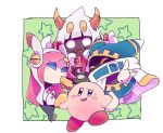 1girl 3boys hoshi_no_kirby hoshi_no_kirby_wii kirby kirby's_return_to_dream_land kirby:_planet_robobot kirby_(series) kirby_triple_deluxe magolor multiple_boys nintendo rokkrn susie_(kirby) taranza