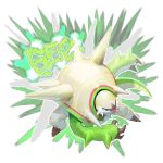 absurdres black_nails chesnaught claws creatures_(company) game_freak gen_6_pokemon highres nintendo no_humans pokemon pokemon_(creature) pokemon_(game) pokemon_number pokemon_xy spiked spiked_shell spikes