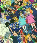 0_0 2girls 90s :d ;) absolutely_everyone alternate_hair_color armpits arms_behind_back artist_name backpack bag bangs bare_shoulders bishoujo_senshi_sailor_moon black_dress black_footwear black_legwear black_shirt black_skirt blue_bow blue_dress blue_eyes blue_footwear blue_hair blue_legwear blue_neckwear blue_skirt blue_sky blue_sweater blush blush_stickers boots bow bowtie buttons casual checkered clenched_hands closed_eyes closed_mouth clouds collarbone collared_shirt colorful combing commentary cosplay crescent crescent_earrings dark_skin double_bun double_v dress earrings elbow_gloves evening_gown everyone expressionless eye_contact facial_mark forehead_mark frilled_dress frills full_body gloves green_bow green_dress green_neckwear hair_brush hand_holding hand_on_hip highres hug interlocked_fingers japanese_clothes jewelry jitome juliet_sleeves kimono knee_boots kneehighs layered_sleeves lisginka long_hair long_sleeves looking_at_another looking_back mary_janes multiple_girls multiple_views necktie nehelenia_(sailor_moon) no_socks one_eye_closed open_mouth orange_bow orange_neckwear orange_sweater own_hands_together parted_bangs pink_dress pink_footwear pink_shirt playing_with_own_hair pleated_skirt pocket pointy_ears princess_serenity profile puffy_long_sleeves puffy_sleeves purple_dress raised_fists randoseru red_bow red_neckwear red_skirt ribbed_sweater sailor_senshi sailor_senshi_costume sash school_uniform serafuku shirt shoes short_sleeves silver_hair skirt skull_print sky sleeveless smile solid_oval_eyes standing strapless strapless_dress striped striped_legwear stud_earrings sweater sweater_vest t-shirt tsukino_usagi turtleneck turtleneck_sweater twintails upside-down v v_arms white_gloves white_shirt wing_collar yellow_bow yellow_footwear yellow_neckwear
