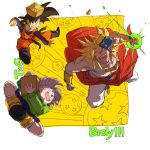 +++ 3boys :d ^_^ aramakijyake basket blonde_hair blue_eyes boots bracelet broly character_name closed_eyes closed_eyes closed_mouth dougi dragon_ball dragon_ball_(object) dragonball_z energy energy_ball evil_grin evil_smile fighting_stance flying full_body green_eyes green_jacket grin happy incoming_attack jacket jewelry long_sleeves looking_at_another male_focus mask mask_removed multiple_boys necklace nervous nervous_smile open_mouth outside_border purple_hair shirtless short_hair shorts simple_background smile son_goten spiky_hair super_saiyan sweatdrop teeth trunks_(dragon_ball) two-tone_background white_background yellow_background