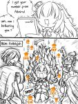 6+girls cigarette comic english fang gambier_bay_(kantai_collection) gameplay_mechanics girls_frontline goggles guin_guin hair_over_one_eye kantai_collection long_hair maid_headdress mg5_(girls_frontline) mk48_(girls_frontline) multiple_girls pkp_(girls_frontline) pointing ppk_(girls_frontline) s.a.t.8_(girls_frontline) saliva trembling