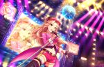 blush brown_eyes hamakawa_ayuna long_hair pink_hair