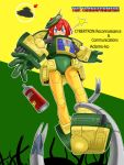 1girl arm_cannon autobot bad_end blue_eyes bob_cut commentary_request cosmos_(transformers) cosplay cybertron dropping english flying flying_saucer insignia kageyama_shinobi logo mecha mecha_musume monster motion_blur nib_pen_(medium) oekaki orange_hair photo photo_background pointy_ears power_armor power_suit real_life robot scared science_fiction space_craft spray_can surprised tentacle traditional_media transformers trapped ufo weapon