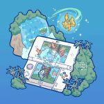commentary cosmog gen_7_pokemon pokemon tagme yamato-leaphere