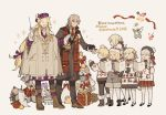 amakusa_shirou_(fate) antonio_salieri_(fate/grand_order) artoria_pendragon_(all) baton_(instrument) child_gilgamesh christmas christmas_tree coat cookie fate/grand_order fate_(series) food fou_(fate/grand_order) gift hat instrument jack_the_ripper_(fate/apocrypha) jeanne_d'arc_(fate)_(all) jeanne_d'arc_alter_santa_lily long_hair low-tied_long_hair music necktie nursery_rhyme_(fate/extra) paul_bunyan_(fate/grand_order) poncho saber_alter scarf singing smile starshadowmagician violin wolfgang_amadeus_mozart_(fate/grand_order)