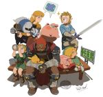 assemblerones blonde_hair blush brush closed_eyes creatures_(company) dress game_freak ganondorf gen_2_pokemon gerudo grin holding holding_sword holding_weapon hug kirby kirby_(series) left-handed link long_hair mask master_sword meta_knight milk nintendo open_mouth pichu pointy_ears pokemon pokemon_(creature) princess_zelda redhead shield short_hair simple_background sleeping smile super_smash_bros. super_smash_bros._ultimate sword tail the_legend_of_zelda the_legend_of_zelda:_breath_of_the_wild the_legend_of_zelda:_majora's_mask the_legend_of_zelda:_ocarina_of_time the_legend_of_zelda:_the_wind_waker toon_link triforce tunic weapon wings young_link