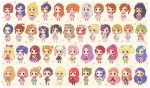 >:) 6+girls :d :o absurdly_long_hair absurdres ahoge aikatsu! aikatsu!_(series) akizuki_ritsuko amami_haruka antenna_hair arisugawa_otome ayase_eli ayase_naru bangs black_hair blonde_hair blue_hair blunt_bangs bow braid brown_hair chibi crop_top crown_braid double_bun dress drill_hair earrings elbow_gloves fang flower folded_ponytail fukuhara_ann futami_ami futami_mami ganaha_hibiki glasses gloves gradient_hair green_hair grey_hair hagiwara_yukiho hair_bow hair_flower hair_ornament hair_ribbon hair_tie hairband hairclip half_updo halter_top halterneck hat headband highres himesato_maria hoshii_miki hoshimiya_ichigo hoshizora_rin ichinose_kaede idol idolmaster idolmaster_(classic) idolmaster_1 idolmaster_2 isora_hibari jacket jewelry kanzaki_mizuki kazesawa_sora kikuchi_makoto kiriya_aoi kisaragi_chihaya kitaouji_sakura koizumi_hanayo kousaka_honoka long_hair love_live! love_live!_school_idol_project low_twintails macross macross_frontier macross_frontier:_sayonara_no_tsubasa mawaru_penguindrum medium_hair midriff midriff_peek minami_kotori minase_iori miura_azusa morizono_wakana multicolored_hair multiple_girls navel necklace nishikino_maki o3o one_side_up open_mouth orange_hair otoshiro_seira parted_bangs pink_hair ponytail pretty_(series) pretty_rhythm pretty_rhythm_rainbow_live purple_hair ranka_lee redhead renjouji_beru ribbon ringo_yuyu rinne_(pretty_rhythm) saegusa_kii scrunchie shibuki_ran shijou_takane shirt short_hair shorts side_ponytail silver_hair skirt sleeveless sleeveless_dress sleeveless_shirt smile sonoda_umi suzuno_ito swept_bangs takakura_himari takanashi_otoha takatsuki_yayoi thigh-highs tiara toudou_yurika toujou_nozomi twin_drills twintails two-tone_hair utada_hikari very_long_hair wrist_cuffs yazawa_nico
