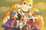 alternate_color baseball_cap beak bird blonde_hair bracelet circlet donkey_kong donkey_kong_(series) earrings falco_lombardi fang gorilla grin hat inkling jewelry link metroid necktie nintendo pointy_ears ponytail princess_zelda samus_aran smile spirit_(super_smash_bros.) splatoon_(series) star_fox super_smash_bros. super_smash_bros._ultimate the_legend_of_zelda the_legend_of_zelda:_breath_of_the_wild