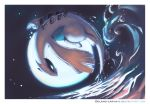 blank_eyes creatures_(company) delano-laramie flying full_body game_freak gen_2_pokemon highres legendary_pokemon lugia nintendo ocean outdoors pokemon pokemon_(creature) solo water watermark web_address
