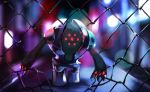 commentary creature creatures_(company) english_commentary full_body game_freak gen_3_pokemon hobermen legendary_pokemon nintendo no_humans pokemon pokemon_(creature) registeel solo