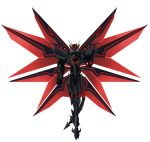1boy armor armored_boots black_armor boots claws corruption dark_persona energy_wings full_body gauntlets high_school_dxd horn horns hyoudou_issei large_wings mechanical_wings multiple_wings red_eyes shoulder_armor shoulder_pads standing tail wings yxyyxy