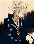 1boy artist_request belphegor_(reborn) crown hair_over_eyes katekyo_hitman_reborn male_focus nail_polish solo tiara