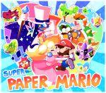 bowser dimentio francis_(paper_mario) kozakana luigi manera mario mr._l nintendo princess_peach super_mario_bros. super_paper_mario