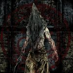 1boy artist_request blood great_knife hat helmet male_focus monster muscle pyramid_head shirtless silent_hill silent_hill_(movie) solo source_request sword weapon