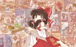 alice_margatroid animal_ears arm_cannon ascot bangs bare_shoulders black_hair blonde_hair bow braid broom building carrot carrot_necklace chen chinese_clothes chinese_new_year chinese_zodiac cirno clock clownpiece commentary_request cooking cosplay cracker cup dahuang debt detached_sleeves double_bun dress dumpling envelope eyebrows_visible_through_hair firecrackers fireworks fish flower food fruit fujiwara_no_mokou green_hair hair_bow hair_tubes hakurei_reimu hat headphones hecatia_lapislazuli hieda_no_akyuu hijiri_byakuren hinanawi_tenshi hong_meiling hood hoodie horns hoshiguma_yuugi houraisan_kaguya ibaraki_kasen ibuki_suika inaba_tewi junko_(touhou) kaenbyou_rin kagiyama_hina kaku_seiga kamishirasawa_keine kazami_yuuka kijin_seija kirisame_marisa kochiya_sanae komano_aun konpaku_youmu kumoi_ichirin lantern long_hair maribel_hearn medicine_melancholy mob_cap morichika_rinnosuke moriya_suwako motoori_kosuzu murasa_minamitsu nagae_iku oni_horns open_mouth orange_hair peach phone pig pillow_hat pom_pom_(clothes) purple_hair pyonta rabbit_ears reisen_udongein_inaba reiuji_utsuho saigyouji_yuyuko short_hair single_braid smile snowman solo_focus sparkling_eyes sukuna_shinmyoumaru sun_wukong sun_wukong_(cosplay) tabard tagme tea television toramaru_shou touhou toyosatomimi_no_miko ufo usami_renko vase weapon white_dress yagokoro_eirin yakumo_ran yasaka_kanako year_of_the_pig yorigami_shion yukkuri_shiteitte_ne