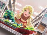 bang_dream! blonde_hair blush dress long_hair smile tsurimaki_kokoro yellow_eyes