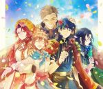 armor axe black_hair blue_eyes blue_hair braid brother_and_sister brown_hair cape closed_eyes facial_mark father_and_daughter father_and_son fire_emblem fire_emblem:_souen_no_kiseki fire_emblem_heroes flower food gloves green_eyes greil hat headband ike long_hair mist_(fire_emblem) multiple_boys nintendo okii open_mouth red_eyes redhead scar short_hair siblings smile soren tiamat_(fire_emblem) tiara weapon