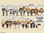 ace_(doctor_who) chibi doctor_who dorothea_chaplet elizabeth_shaw english everyone grace_holloway josephine_grant k-9 leela_(doctor_who) melanie_bush mimi-na nyssa_(doctor_who) peri_brown polly_(doctor_who) romana_(doctor_who) rose_tyler sarah_jane susan_foreman tegan_jovanka tenth_doctor the_doctor vicki_(doctor_who) victoria_waterfield zoe_heriot