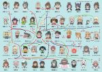 6+girls :d akagi_(kantai_collection) akashi_(kantai_collection) amagi_(kantai_collection) apron aquila_(kantai_collection) ark_royal_(kantai_collection) arms_up ashigara_(kantai_collection) battleship_hime bismarck_(kantai_collection) cat chibi dog enemy_lifebuoy_(kantai_collection) everyone eyepatch fubuki_(kantai_collection) gambier_bay_(kantai_collection) gangut_(kantai_collection) graf_zeppelin_(kantai_collection) hachimaki haguro_(kantai_collection) hair_ribbon hairband hat headband hibiki_(kantai_collection) hiryuu_(kantai_collection) houshou_(kantai_collection) intrepid_(kantai_collection) iowa_(kantai_collection) irako_(kantai_collection) japanese_clothes kaga_(kantai_collection) kantai_collection kappougi katsuragi_(kantai_collection) kimono kiso_(kantai_collection) kitakami_(kantai_collection) kuma_(kantai_collection) littorio_(kantai_collection) long_hair mamiya_(kantai_collection) megahiyo multiple_girls nejiri_hachimaki northern_ocean_hime ooi_(kantai_collection) open_mouth pola_(kantai_collection) ponytail portrait prinz_eugen_(kantai_collection) relationship_graph ribbon ryuuhou_(kantai_collection) ryuujou_(kantai_collection) saratoga_(kantai_collection) school_uniform serafuku shinkaisei-kan short_hair shoukaku_(kantai_collection) side_ponytail smile solid_oval_eyes souryuu_(kantai_collection) taigei_(kantai_collection) taihou_(kantai_collection) tama_(kantai_collection) tatsuta_(kantai_collection) tenryuu_(kantai_collection) twintails unryuu_(kantai_collection) unsinkable_sam verniy_(kantai_collection) warspite_(kantai_collection) wide_oval_eyes wo-class_aircraft_carrier yamato_(kantai_collection) zara_(kantai_collection) zuihou_(kantai_collection) zuikaku_(kantai_collection)