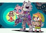 animal_ears blonde_hair chibi eyepatch facial_hair furry gen_1_pokemon gloves gun hat jacket jigglypuff lantern link nintendo pokemon pokemon_(creature) shield smile star_fox super_smash_bros. super_smash_bros._ultimate sword tail tears teijiro the_legend_of_zelda the_legend_of_zelda:_the_wind_waker toon_link weapon wolf wolf_ears wolf_o'donnell wolf_tail