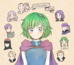 3girls 6+boys bandanna black_hair blonde_hair blue_eyes book brothers brown_hair canas cape closed_eyes closed_mouth erk_(fire_emblem) facial_hair fire_emblem fire_emblem:_rekka_no_ken florina green_hair grin hairband headband hira_(otemoto84) horse jaffar_(fire_emblem) legault linus_(fire_emblem) lloyd_(fire_emblem) long_hair merlinus_(fire_emblem) monocle multiple_boys multiple_girls mustache nino_(fire_emblem) nintendo one_eye_closed open_book open_mouth purple_hair rebecca_(fire_emblem) short_hair siblings smile star upper_body