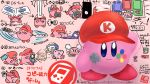 1other blue_eyes bronto_burt controller copy_ability dropping game_boy game_console game_controller gamecube hal_laboratory_inc. handheld_game_console hat highres hoshi_no_kirby kirby kirby_(series) nintendo nintendo_3ds nintendo_dsi nintendo_switch no_humans pink_background pink_puff_ball poppy_bros_jr simple_background sitting sketch spinning suyabi_(subikabi1426zoy) wii_remote