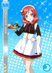 blush character_name dress love_live!_school_idol_festival love_live!_school_idol_project nishikino_maki redhead short_hair smile violet_eyes
