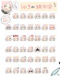 ! !! >_< +++ +_+ /\/\/\ 1girl :> :< :d :i :q ;) ? ^_^ absurdres angel_wings anger_vein bangs black_sailor_collar black_wings blue_eyes blush blush_stickers chibi closed_eyes closed_mouth commentary_request crying demon_girl demon_horns demon_tail demon_wings detached_wings double_v drooling eating eighth_note expressions eyebrows_visible_through_hair facing_viewer finger_to_mouth food food_on_face forehead grin hair_ornament hairclip half-closed_eye halo heart heart_eyes highres horns index_finger_raised laughing light_bulb looking_at_viewer mini_wings musical_note nose_blush notice_lines one_eye_closed open_mouth original parted_bangs parted_lips pink_hair pout sailor_collar shaded_face shushing signature sleeping smile snot sofra sparkle square_mouth squiggle star streaming_tears sunglasses sweat sweatdrop tail tears thumbs_up tongue tongue_out translation_request trembling triangle_mouth v v-shaped_eyebrows wavy_mouth whistling white_wings wings x_hair_ornament xd zzz