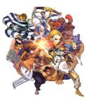 bandages barefoot belt bengus black_hair blanka blonde_hair boxing_gloves braid brown_hair cammy_white capcom chain clash claws clenched_teeth cody cuffs dee_jay edmond_honda everyone facepaint feet fei_long fighting_stance gloves glowing green_skin handcuffs hat headband juli juni kanzuki_karin m_bison mask muscle official_art punching rainbow_mika ryu ryuu_(street_fighter) shoei short_hair street_fighter street_fighter_ii street_fighter_zero street_fighter_zero_iii t_hawk teeth thunder_hawk torn_clothes twin_braids twintails vega