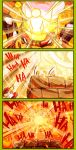 bowser brown_hair comic commentary english_commentary english_text highres mario mario_(series) molten_rock nintendo sindraws super_crown super_mario_bros.