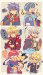 1other 6boys armor blonde_hair blue_armor blue_eyes blue_hair blush cape cloud_strife creatures_(company) final_fantasy final_fantasy_vii final_fantasy_vii_advent_children fire_emblem fire_emblem:_fuuin_no_tsurugi fire_emblem:_kakusei fire_emblem:_monshou_no_nazo fire_emblem:_shin_monshou_no_nazo fire_emblem:_souen_no_kiseki fire_emblem_heroes food game_freak gen_2_pokemon gloves headband highres ike intelligent_systems kiriya_(552260) long_hair male_my_unit_(fire_emblem:_kakusei) mamkute marth monolith_soft multiple_boys my_unit_(fire_emblem:_kakusei) nintendo open_mouth pichu pokemon pokemon_(creature) pokemon_gsc project_m redhead roy_(fire_emblem) short_hair shulk simple_background smile sora_(company) square_enix super_smash_bros. super_smash_bros._ultimate super_smash_bros_brawl super_smash_bros_for_wii_u_and_3ds super_smash_bros_melee white_hair xenoblade_(series) xenoblade_1