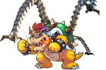 1boy bowser cyborg fire guardian_(breath_of_the_wild) mario_(series) nintendo source_request the_legend_of_zelda third-party_edit