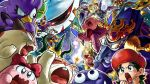 adeleine broom chuchu_(kirby) coo_(kirby) dragoon_(kirby) dyna_blade galactic_nova gooey gryll_(kirby) hydra_(kirby) jizo_yukari king_dedede kirby kirby_(series) long_nose marx meta_knight nago_(kirby) nightmare_(kirby) nintendo pitch_(kirby) red_sclera ribbon_(kirby) rick_(kirby) shouting star_rod sweatdrop zero_two_(kirby)