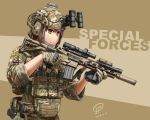1girl assault assault_rifle gun h&k_hk416 highres jpc original rifle weapon