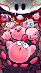 6+others :t backwards_hat baseball_cap batamon blush_stickers constricted_pupils creatures_(company) ditto flying_rocket_pig game_freak gen_1_pokemon green_eyes hal_laboratory_inc. hat highres hoshi_no_kirby hoshi_no_kirby_(anime) hoshi_no_kirby_(game) hoshi_no_kirby_3 jigglypuff kirby kirby's_dream_land kirby's_dream_land_3 kirby:_planet_robobot kirby:_right_back_at_ya! kirby:_star_allies kirby_(series) knife meme nintendo no_humans pig pokemon scribble shakurel_kingdom smile spoilers super_smash_bros. suyabi_(subikabi1426zoy) sword void_termina weapon what |_|