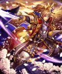 1girl breasts fantasy highres katana kazto_furuya long_hair looking_at_viewer official_art original shingoku_no_valhalla_gate solo sword weapon