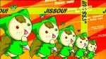 animated animated_gif broccoli dance dancing ga_rune_pose galaxy_angel galaxy_angel_rune gif heterochromia jissouseki lowres parody rozen_maiden what